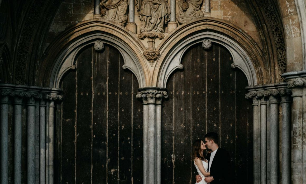 Salisbury Cathedral Engagement Session