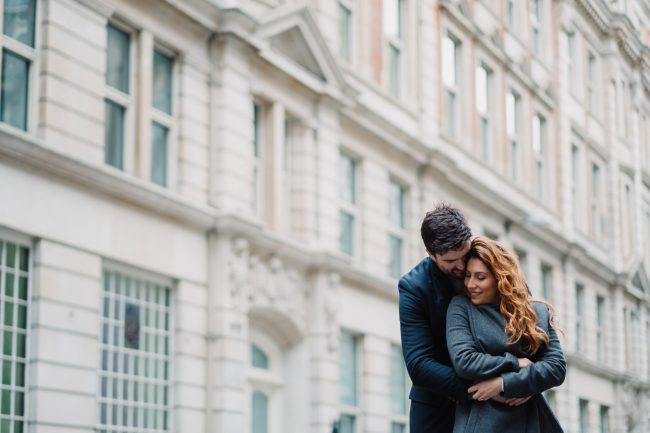London Engagement Shoot - City of London