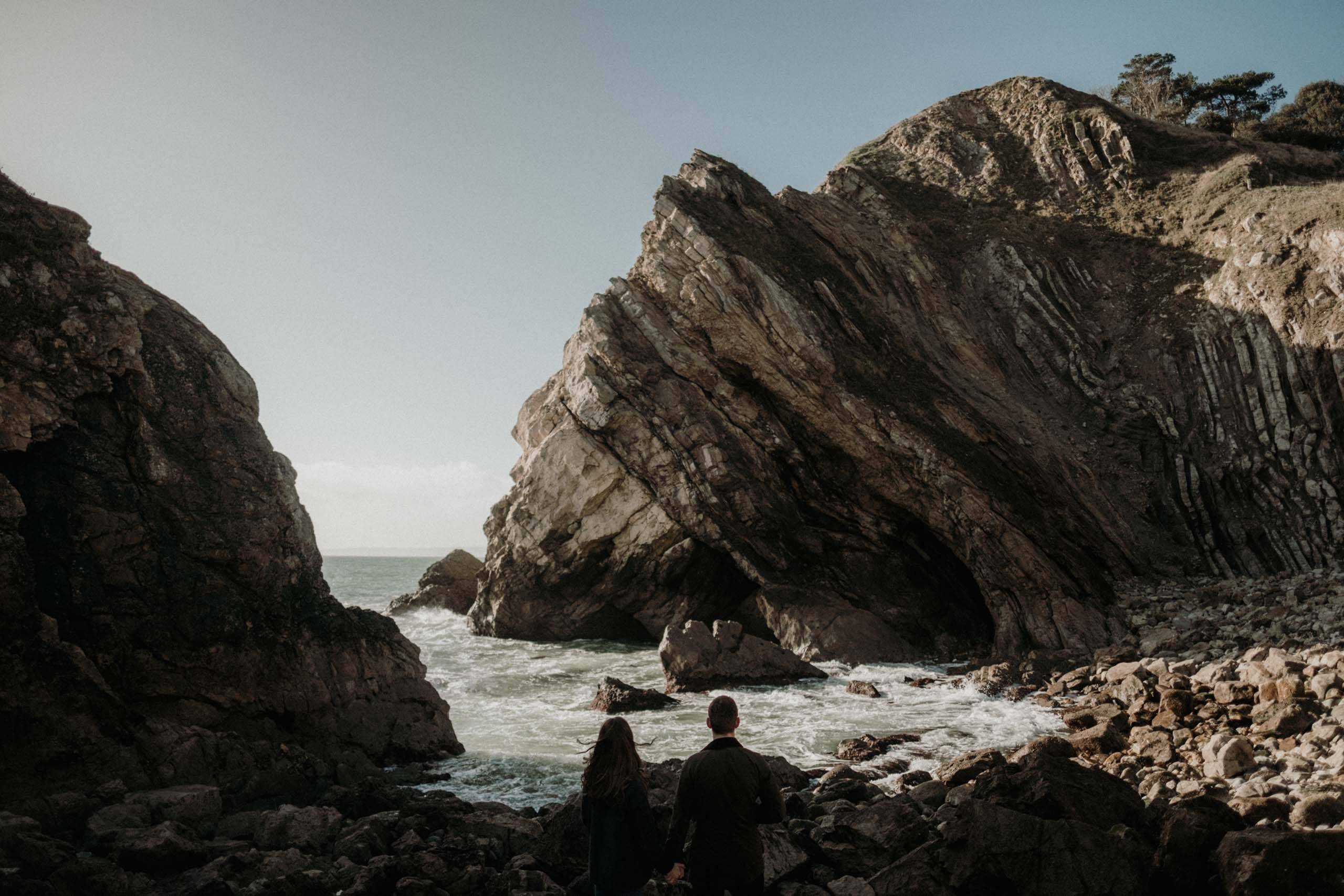 Lulworth Cove Dorset Engagement Session Stuart Dudleston Photography LilyGeorge 6