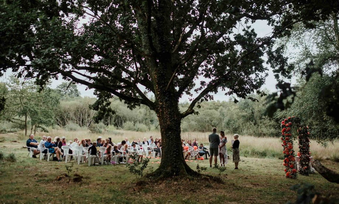 Meadow Tree Farm Hampshire Humanist Wedding LaurenNathan Stuart Dudleston Photography 3